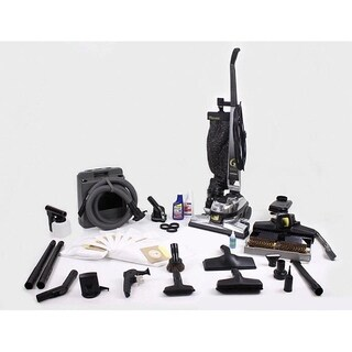 Reconditioned Kirby Upright Gsix G6 Vacuum Cleaner loaded with tools shampooer & floor buffer HEPA Bags PET