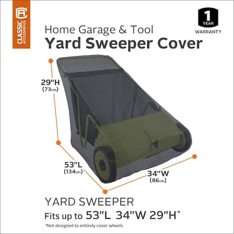 Classic Accessories Yard Sweeper Cover