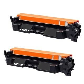 2PK Compatible CF217A Toner Cartridge For HP LaserJet Pro M102w M102a MFP M130nw M130fw M130fn M130a ( Pack of 2 )