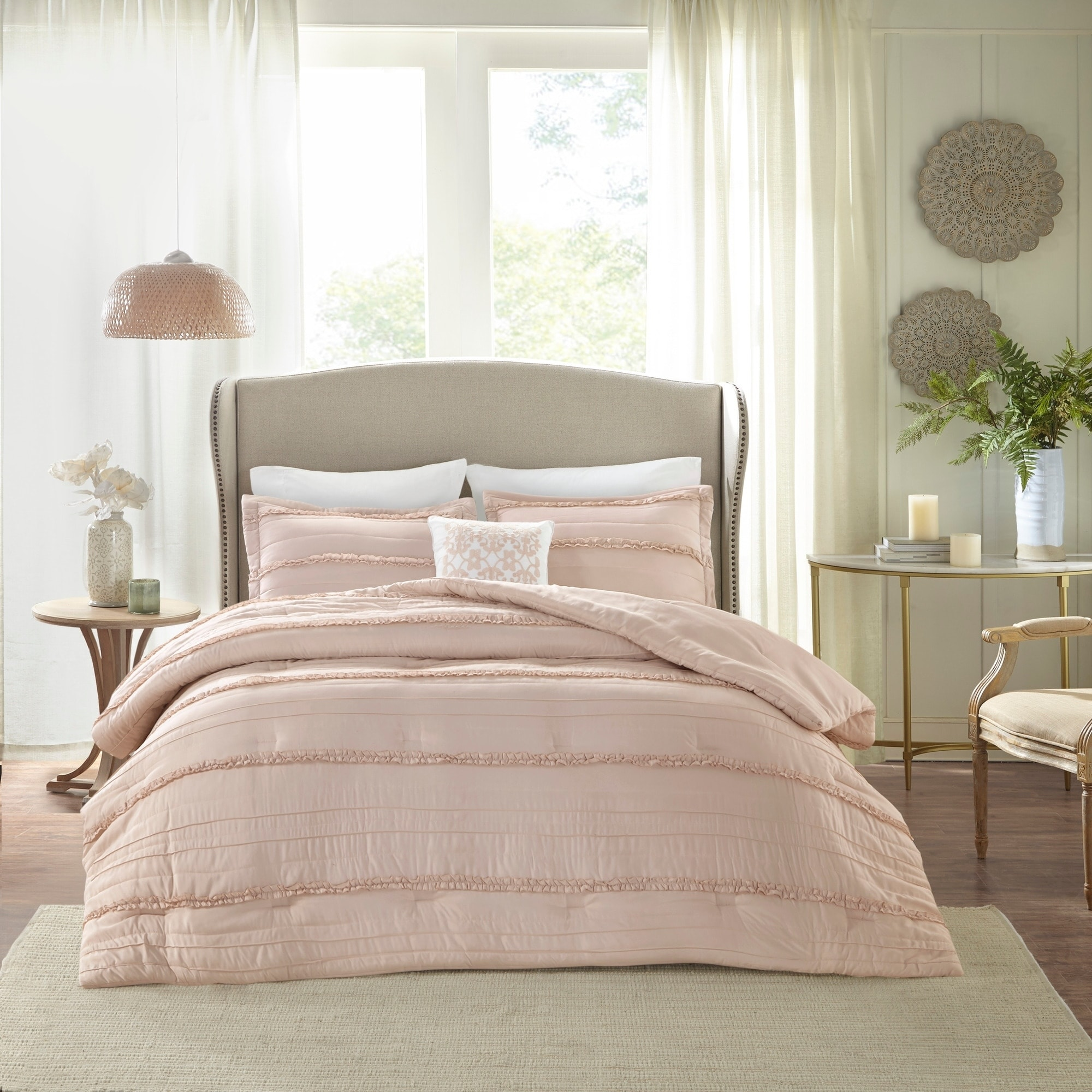 Copper Grove Burwell Pink Comforter Set On Sale Overstock 20830761