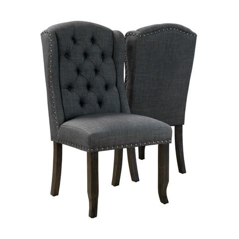 5bd275c7bfd6 Buy Grey Kitchen & Dining Room Chairs Online at Overstock | Our Best ...