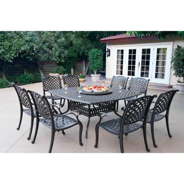Shop Havenside Home Sackville Cast Aluminum 10-piece