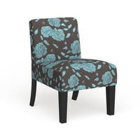 Porch & Den Corktown Bagley Floral Accent Chair