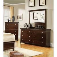 Copper Grove Kluane Natural 2-piece Dresser and Mirror Set