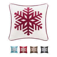 Pine Canopy Ashley 20-inch Snowflake Throw Pillow