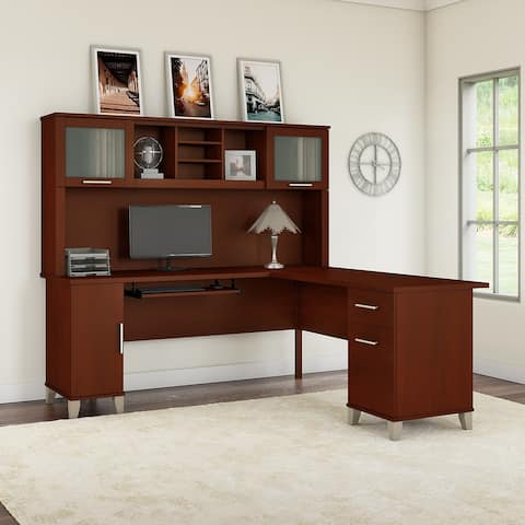Copper Grove Busiek 71-inch L-shaped Desk