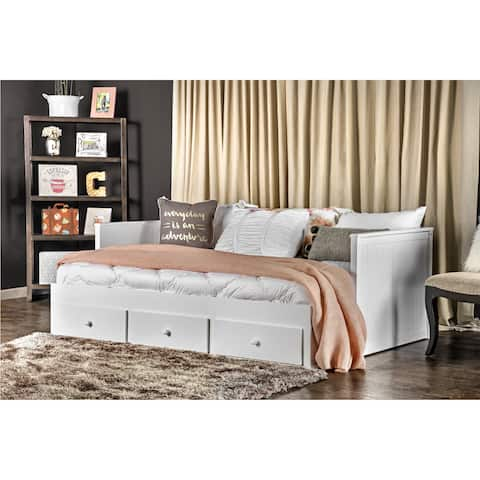Ophelia Cottage Full Storage Daybed by FOA