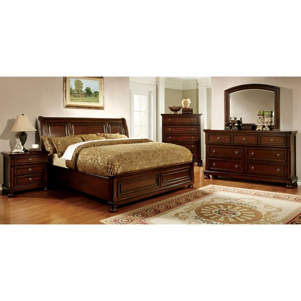 Gracewood Hollow Yep Cherry 4-piece Bedroom Set