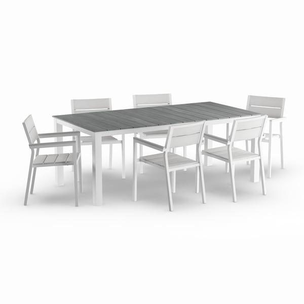 Havenside Home Steinhatchee 7-piece Outdoor Dining Set