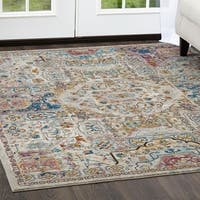 "Parlin Pastel Southwest Area Rug by Nicole Miller - 7'9""x9'5"""