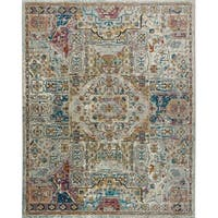"""Parlin Pastel Southwest Area Rug by Nicole Miller - 9'2""""x12'5"""""""
