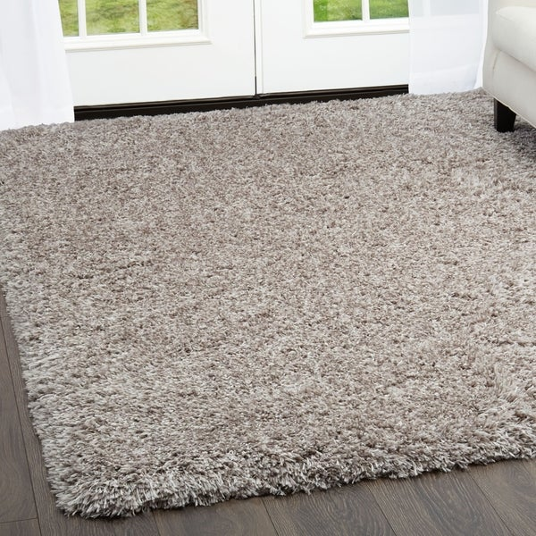 Casey Gray Plush Area Rug By Nicole Miller 7 X27