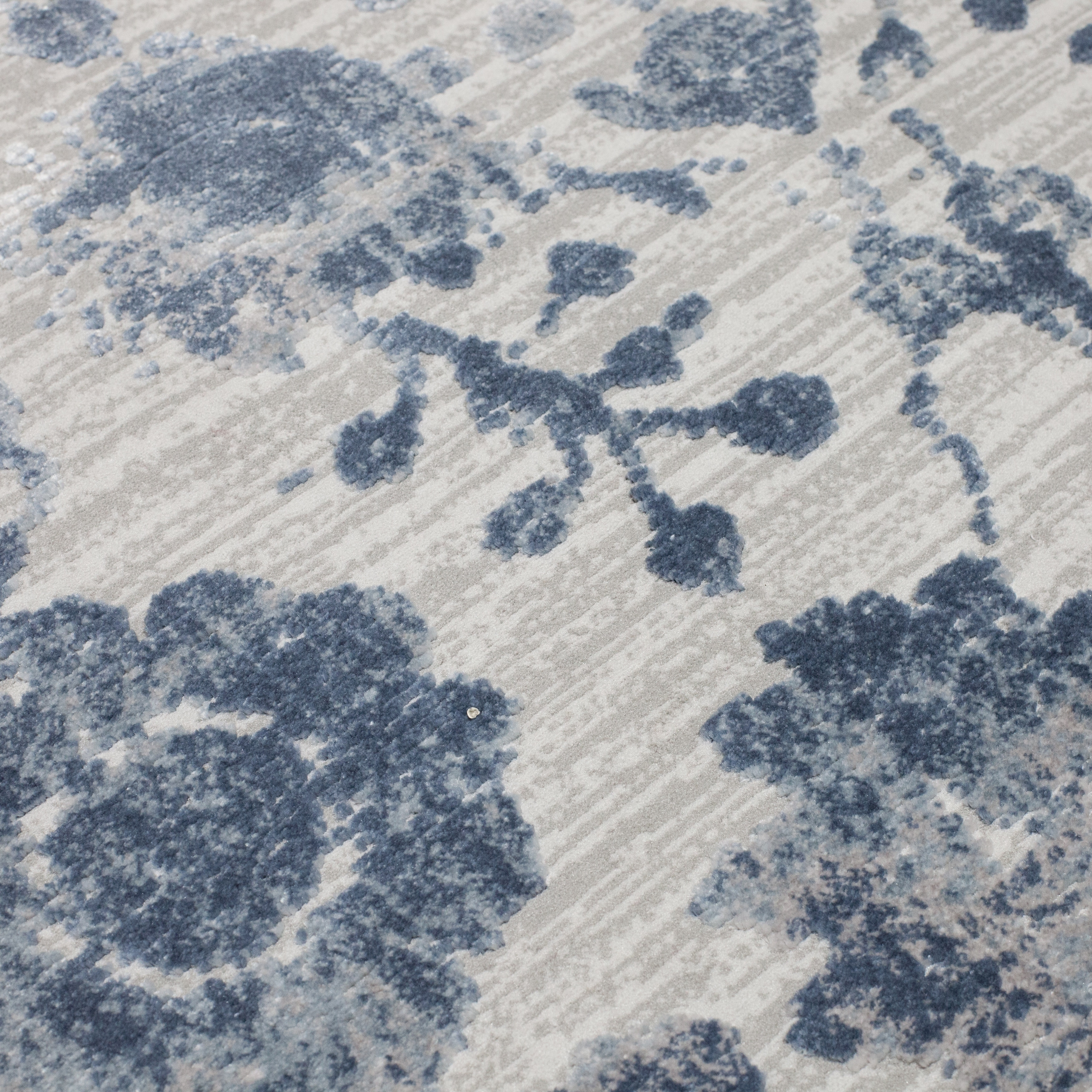 Grey And Blue Area Rug Uniquely Modern Rugs