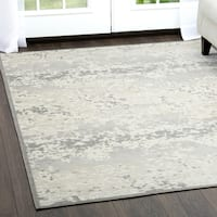 """Ivory & Gray Infinity Area Rug by Nicole Miller - 7'6""""x10'2"""""""