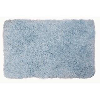 "Light blue Casey Plush  Area Rug Shag - 26""x44"""