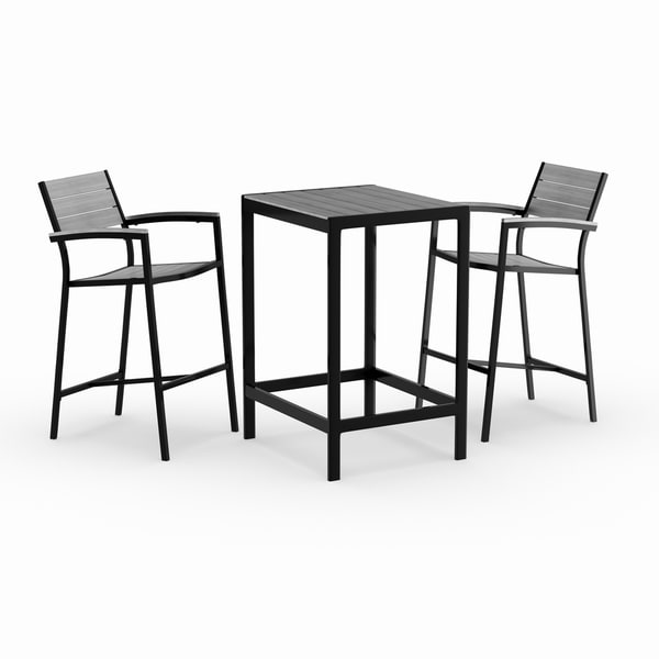 Bar Sets For Sale: Shop Oliver & James Boggio 3-piece Outdoor Bar Set