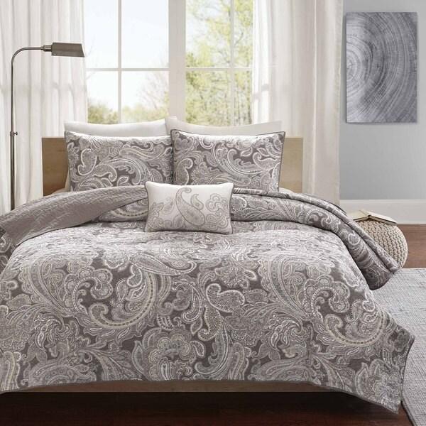 Gracewood Hollow Rio 4-piece Cotton Coverlet Set