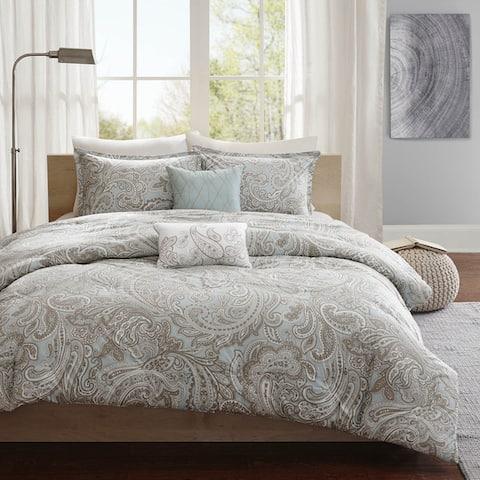 Gracewood Hollow Rio 5-piece Cotton Duvet Cover Set