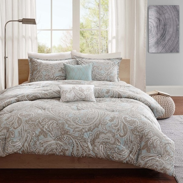 Gracewood Hollow Rio Cotton 5-piece Comforter Set