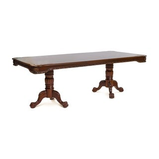 Gracewood Hollow Sita Formal Cherry Brown Dining Table - Cherry Brown