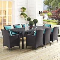 Havenside Home Bocabec 82-inch Outdoor Patio Dining Table