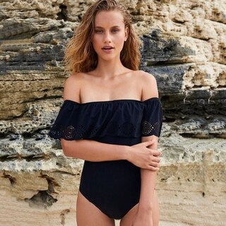 One-piece Swimsuit Lace Hollow Bikini Set Beachwear (4 options available)