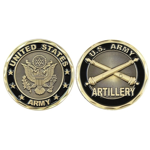Shop United States Army Field Artillery Logo Double Sided
