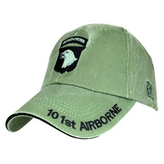 US Army 101st Airborne Division Green Military Cap