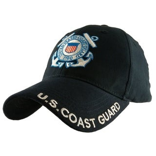 US Coast Guard Logo Navy Blue Military Cap