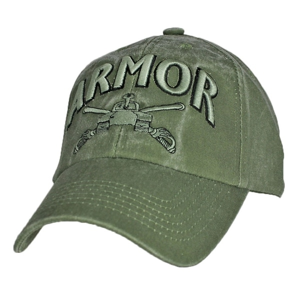 US Army Armor Green Military Cap