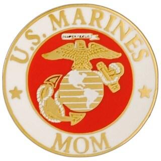 US Marine Corps Mom Military Lapel Pin