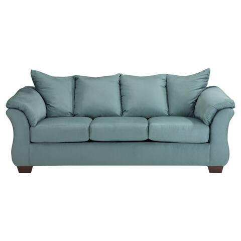 Darcy Contemporary Sky Sofa
