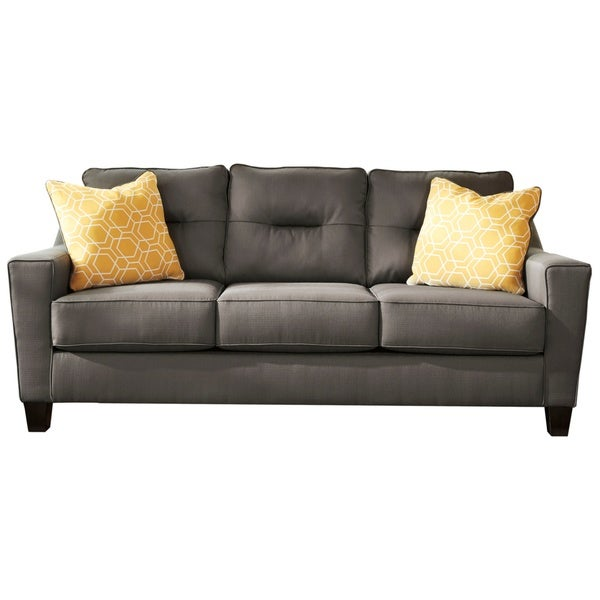 Ashley Furniture Forsan Nuvella Gray Queen Sofa Sleeper: Shop Signature Design By Ashley, Forsan Nuvella