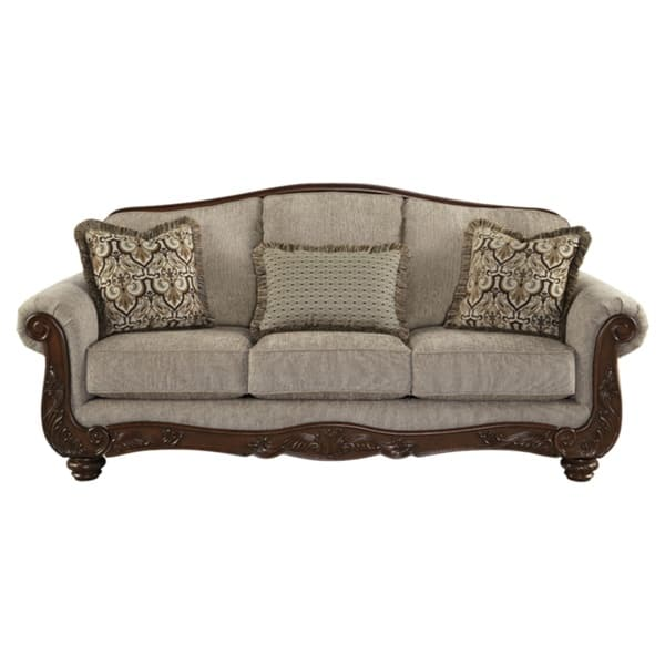 Enjoyable Shop Cecilyn Traditional Cocoa Sofa On Sale Free Ocoug Best Dining Table And Chair Ideas Images Ocougorg