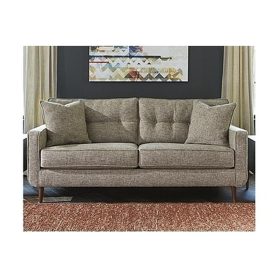 Signature Design By Ashley Dahra Contemporary Jute Sofa