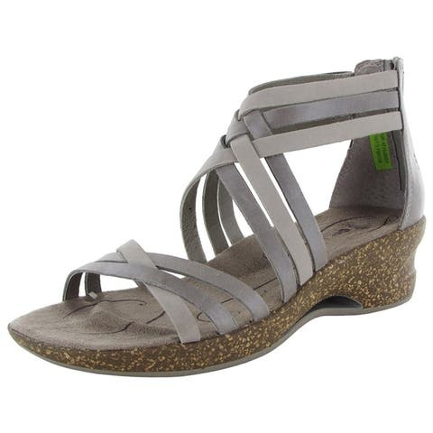 Ahnu Womens Trolley Huarache Platform Wedge Sandals by