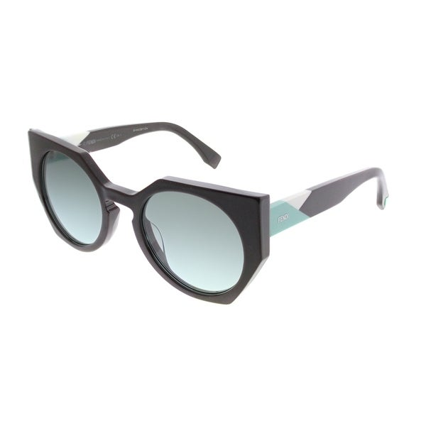 9a8dd86298f Fendi Cat-Eye FF 0151 Fendi Facets PJP Women Blue Frame Blue Gradient Lens  Sunglasses