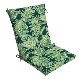 Arden Selections Emerald Quintana Tropical Outdoor Clean Finish Chair Cushion