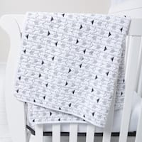 Black and White Arrows Quilt