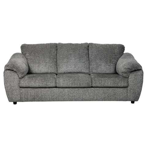 Signature Design by Ashley Azaline Contemporary Slate Sofa