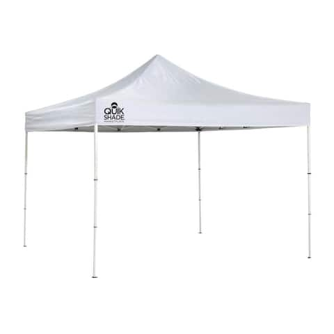 Marketplace MP100 Ultra Compact 10 x 10 ft. Straight Leg Canopy - White
