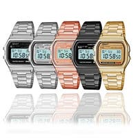 Sport Metal Band Watch LCD Display