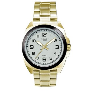 Milano Expressions Metal Band, Case/ Dial 35511 (Option: gold-white)