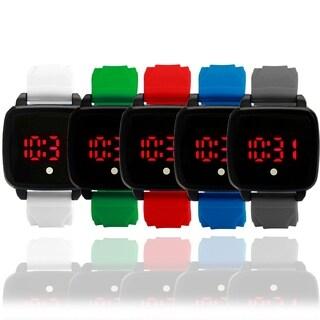 Montres Carlo Plastic Strap LED Touch Screen watch AK3999