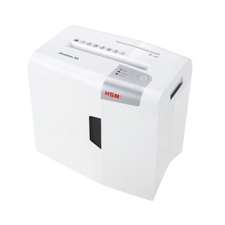 HSM shredstar X5 Cross-Cut Shredder; shreds up to 5 sheets; 4.8-gallon capacity