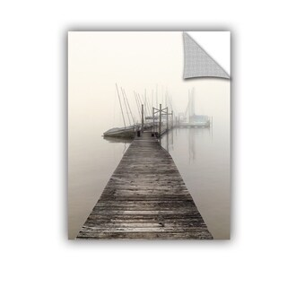 ArtWall Nicholas Bell 'Harbor Fog' Removable Wall Art Mural