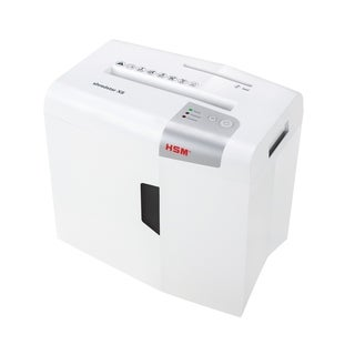 HSM shredstar X8 Cross-Cut Shredder; shreds up to 8 sheets; 4.8-gallon capacity