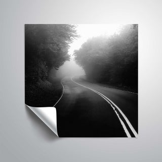 ArtWall Nicholas Bell 'Mountain Road' Removable Wall Art Mural