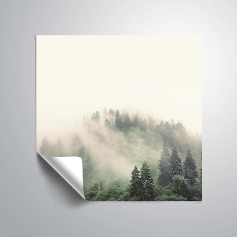 ArtWall Nicholas Bell 'Smoky Mountains' Removable Wall Art