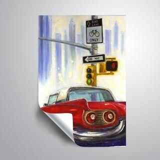 ArtWall Mica 'One way to NY' Removable Wall Art